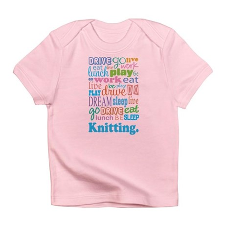 Knitting Infant T-Shirt