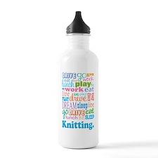 Knitting Water Bottle
