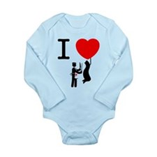 Butcher Long Sleeve Infant Bodysuit