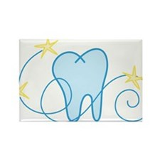 Tooth Rectangle Magnet