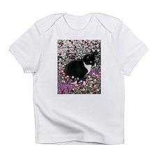 Freckles Tux Cat Flowers II Infant T-Shirt