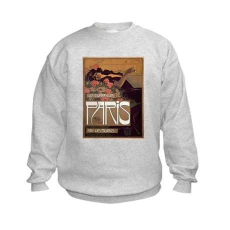 ART NOUVEAU Kids Sweatshirt