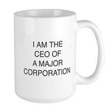 I am the CEO mug