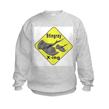 Singray Crossing Kids Sweatshirt