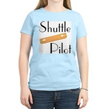 Shuttle Pilot Ash Grey T-Shirt T-Shirt