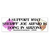 &amp;quot;Sheriff Joe Arpaio&amp;quot; Bumper Bumper Sticker