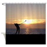 playing_golf_at_sunset_shower_ ...
