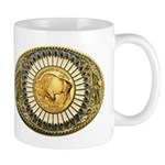 Buffalo gold oval 1 Mug