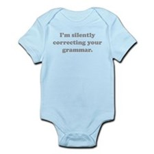 I'm Silently Correcting Your Grammar Onesie