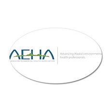 AEHA LOGO Phrase 20x12 Oval Wall Decal