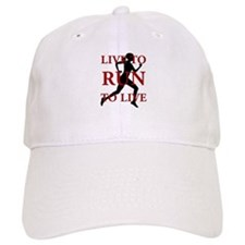 Live to Run Baseball Cap