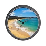 Big Beach (Wall Clock)