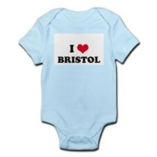 I HEART BRISTOL  Infant Creeper