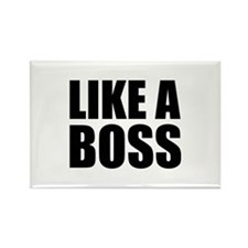 Like A Boss Rectangle Magnet (100 pack)