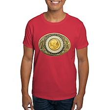 Buffalo gold oval 1 T-Shirt