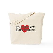 Ancestors Heart Tote Bag