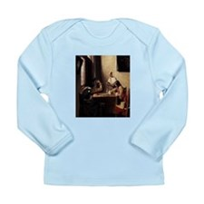 card player art Long Sleeve Infant T-Shirt