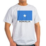Somalia Flag Gear Ash Grey T-Shirt