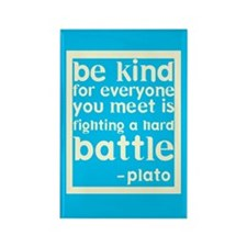 Be Kind Rectangle Magnet