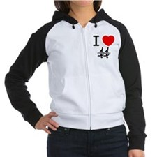 Synchronized Swimming Women's Raglan Hoodie