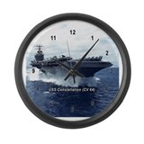Unique U.s. navy Large Wall Clock