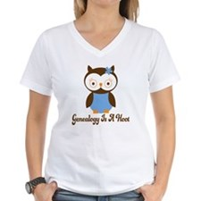 Genealogy Owl Is A Hoot Shirt