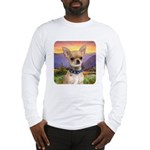 Chihuahua Meadow Long Sleeve T-Shirt