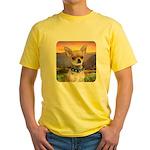 Chihuahua Meadow Yellow T-Shirt