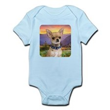 Chihuahua Meadow Infant Bodysuit