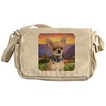 Chihuahua Meadow Messenger Bag