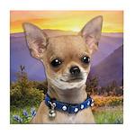 Chihuahua Meadow Tile Coaster