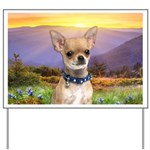 Chihuahua Meadow Yard Sign