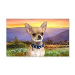 Chihuahua Meadow 20x12 Wall Decal