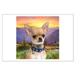 Chihuahua Meadow Large Poster