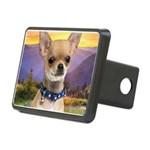 Chihuahua Meadow Rectangular Hitch Cover