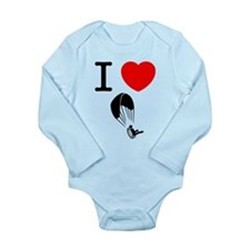 Paramotoring Long Sleeve Infant Bodysuit