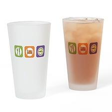 Eat Sleep NYSAFLT Drinking Glass