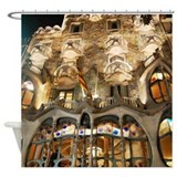 Casa Batllo by Gaudi Shower Curtain