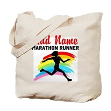 MARATHON RUNNER Tote Bag