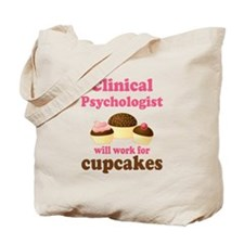 Clinical Psychologist Cupcake Tote Bag