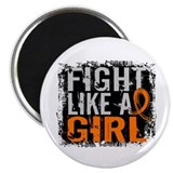Fight Like a Girl 31.8 Kidney Cancer Magnet