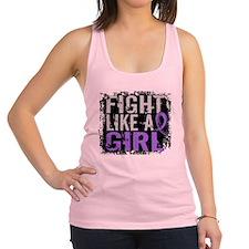 Fight Like a Girl 31.8 H Lymphoma Racerback Tank T