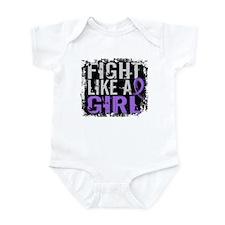 Licensed Fight Like a Girl 31.8 H Infant Bodysuit