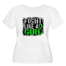Fight Like a Girl 31.8 NH Lymphoma T-Shirt