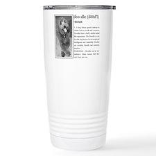 Cute Labradoodle Thermos Mug