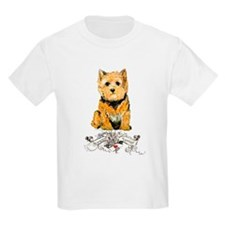 I love my Norwich Terrier Kids T-Shirt