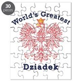 World's Greatest Dziadek Red Eagle Puzzle