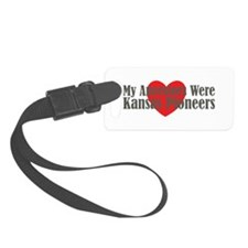Kansas Ancestors Heart Luggage Tag