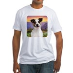 Jack Russell Meadow Fitted T-Shirt