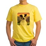 Jack Russell Meadow Yellow T-Shirt